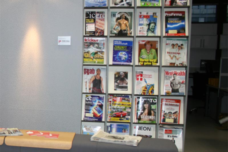 Leseecke im AStA-Büro