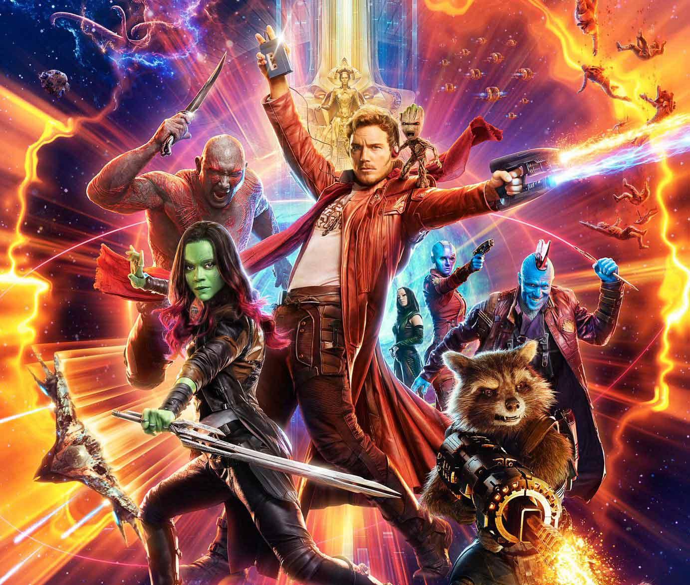 Plakatausschnitt Guardians of the Galaxy Vol. 2