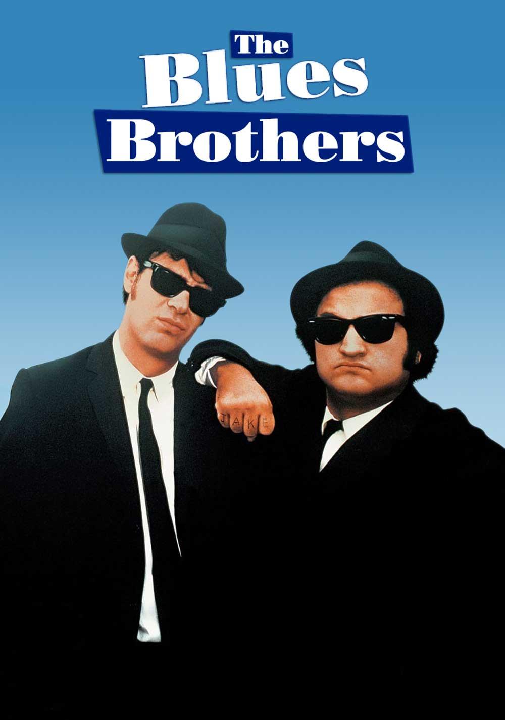Plakatausschnitt Blues Brothers