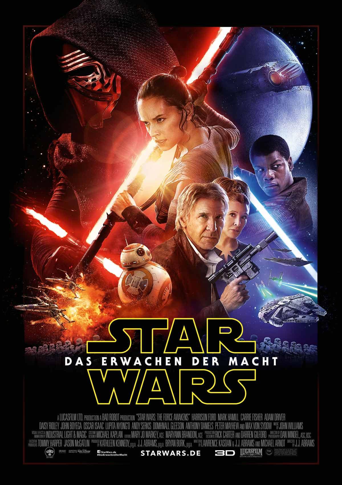 Plakatausschnitt Star Wars – Das Erwachen der Macht