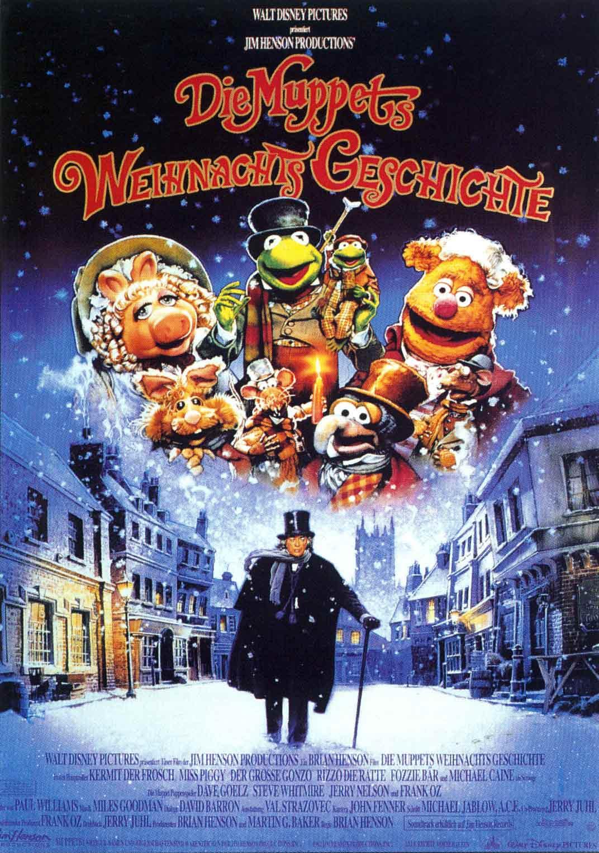 Plakatausschnitt Muppets Weihnachtsgeschichte