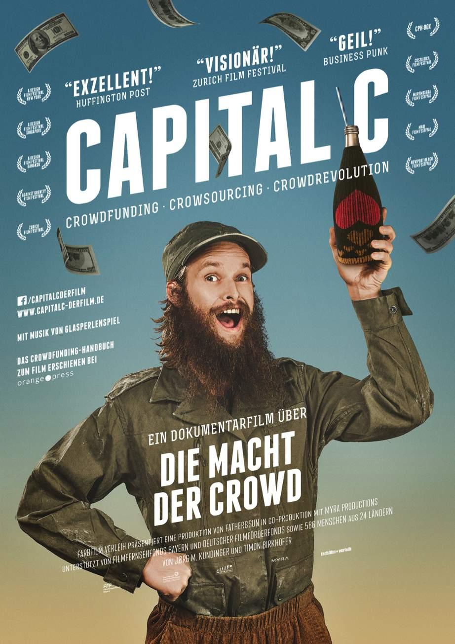 Plakatausschnitt Capital C